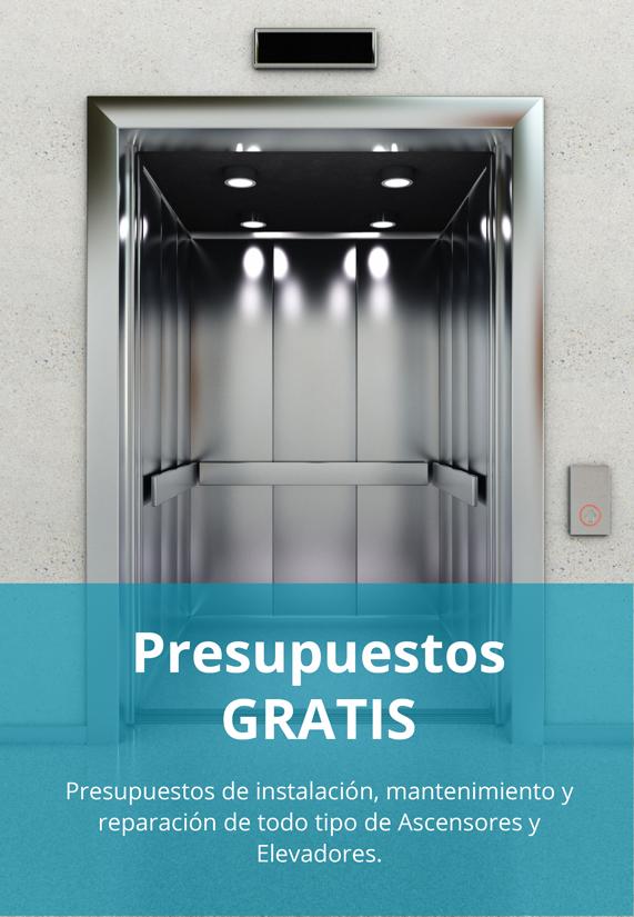 Presupuestos ascensores gratis