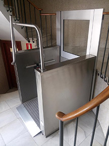 elevador discapacitados para mejorar la accesibilidad