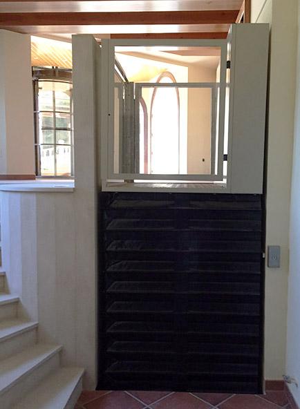 , Ascenseur vertical handicapé, confort et accessibilité   monte-escalier