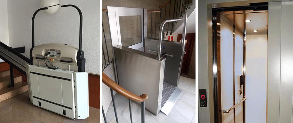 Ascenseurs handicapés