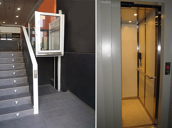 elevadores verticales para personas ascensoresymas