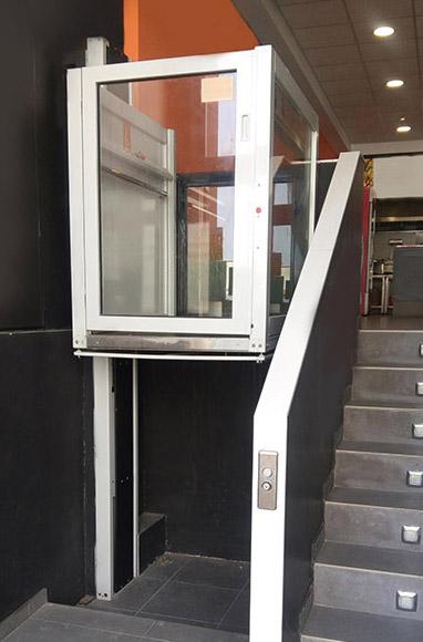 elevadores verticales precios