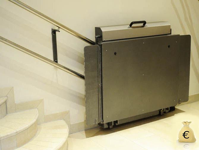 Prix de la plate-forme d'escalier