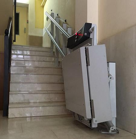 Plates-formes élévatrices pour personnes handicapées