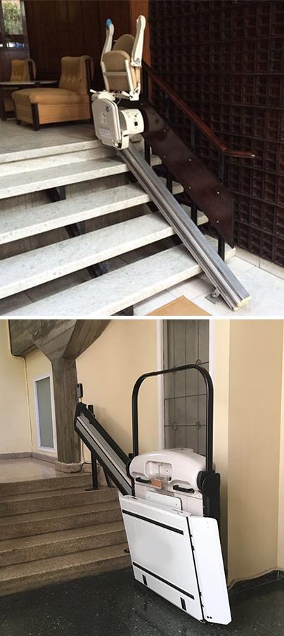 Escaliers - Escaliers de chaise et de plateforme