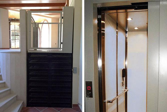 Elevadores para casas particulares ascensoresym s for Casas con escaleras por dentro
