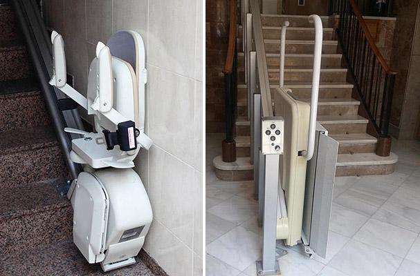 Elevadores para escaleras