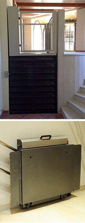 Plataforma elevadora minusválidos