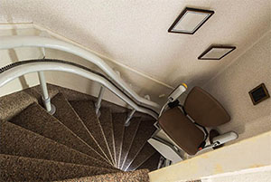 Sillas para Subir Escaleras Curvas