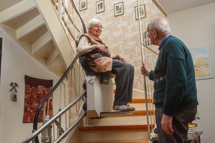 Elevador Escaleras