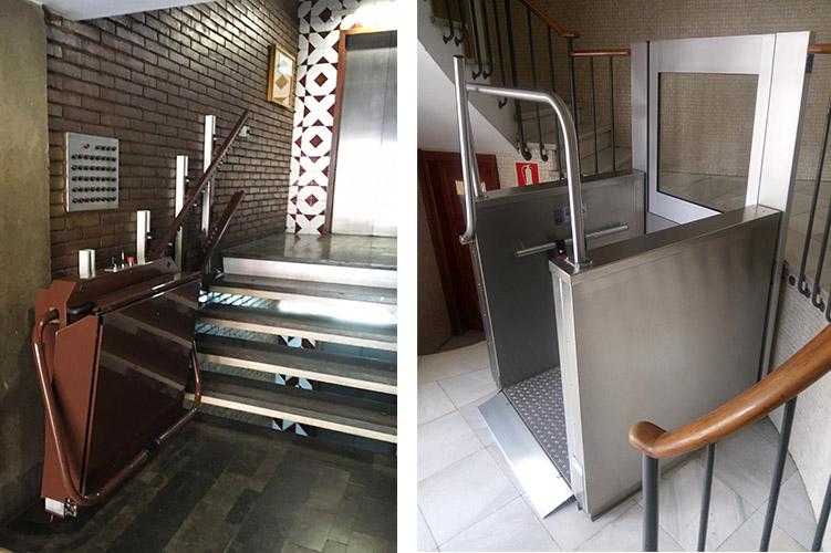 Ascenseurs pour les communautés voisines