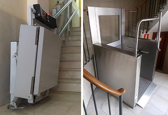 plataformas elevadoras para minusv lidos ascensoresym s