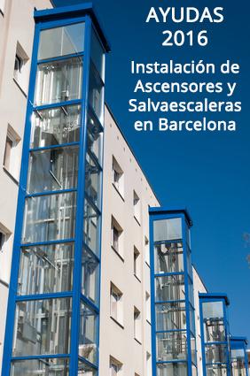 Ayudas para la instalación de Salvaescaleras y Ascensores en Barcelona