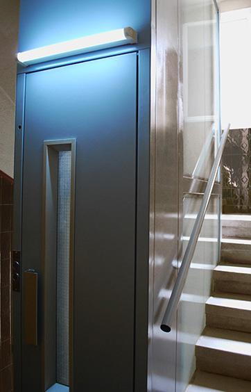 Instalación de Ascensores en edificios de viviendas