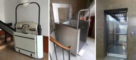 Elevadores para sillas de ruedas
