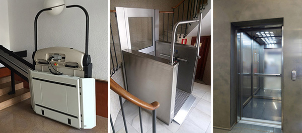 Elevadores para sillas de ruedas tipos y precios for Sillas ascensores para escaleras precios
