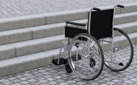 Salvaescaleras para personas con discapacidad
