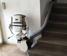 Cuánto cuesta una silla salvaescaleras de Segunda mano