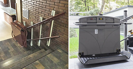 Elevador de escaleras para discapacitados for Ascensores para escaleras