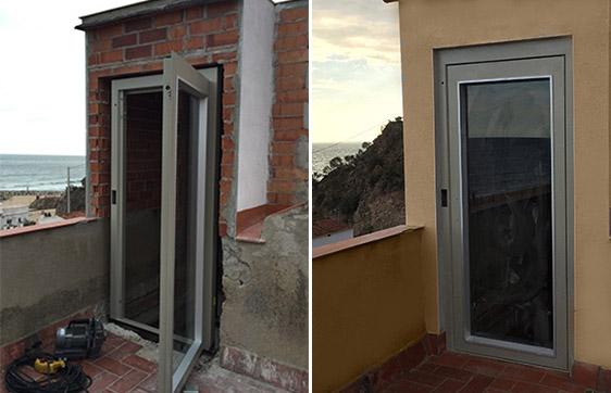 Instalaci n de ascensores de exterior en viviendas - Ascensores para viviendas unifamiliares ...