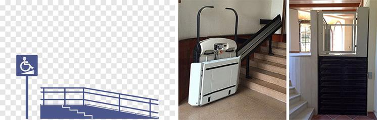 Rampes pour fauteuils roulants