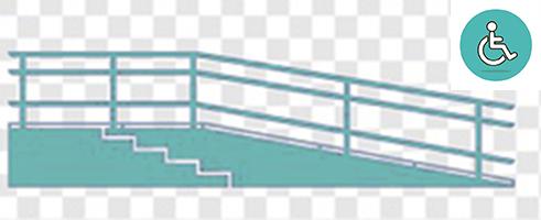 , Réglementation sur les rampes pour fauteuils roulants   monte-escalier