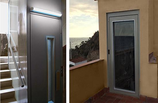 Modelos de ascensores para casas y edificios - Ascensores para viviendas unifamiliares ...