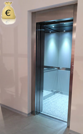 presupuesto para un ascensor unifamiliar