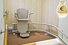 Presupuesto adecuado para una silla salvaescaleras