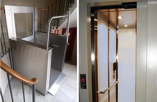 Ascenseurs verticaux pour personnes à mobilité réduite