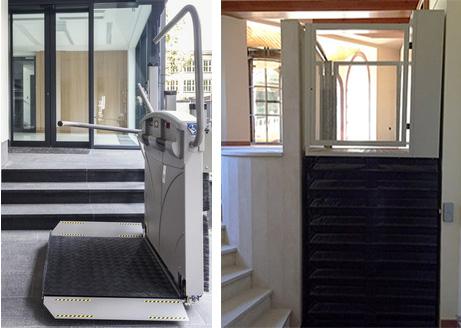 , Plateformes adaptées | Ascensoresymás.com   monte escalier droit