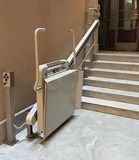 Comment enregistrer les escaliers d'accès à votre communauté