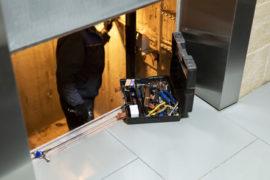 Trabajos de mantenimiento en Ascensores