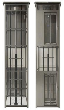 , Ascenseur hydraulique sans salle des machines, comment est-ce possible?prix monte escalier