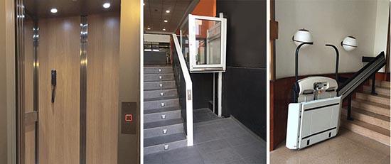 , Mesures pour chariots élévateurs pour handicapés   prix monte escalier