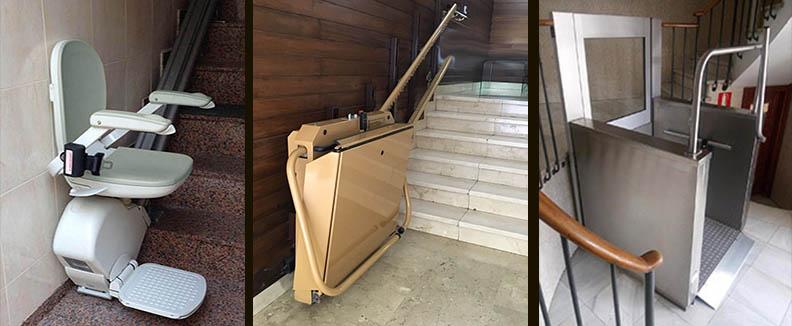 , Types d'ascenseurs pour bâtimentschaise ascenceur