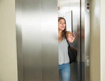 Seguridad en ascensores y montacargas