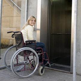 Ascensor para silla de ruedas