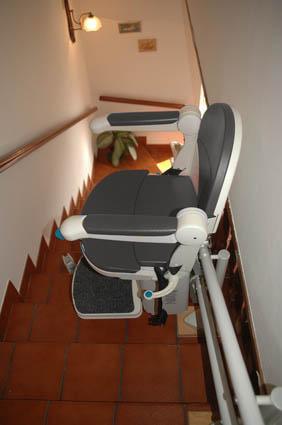 Sillas automaticas para escaleras