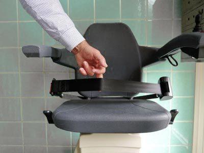 Silla para subir escaleras discapacitados