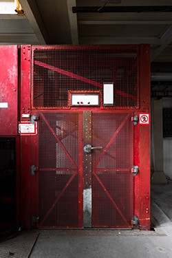 , Capacité de charge du chariot élévateur | Ascenseurs   monte escalier tournant