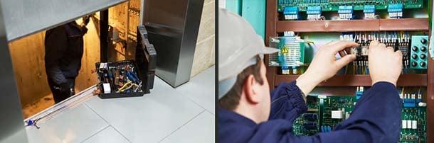 Trabajador especializado en ascensores