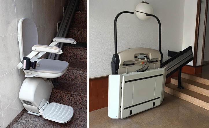 Machine à monter les escaliers