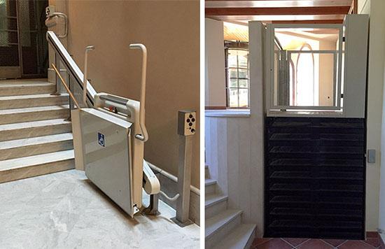 Plataformas elevadoras domesticas