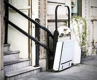 Sube escaleras para sillas de rueda