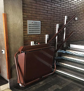 Escaleras para Silla de Ruedas